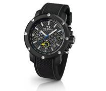 TW Steel Herren-Armbanduhr VR46 Valentino Rossi Analog Quarz Kautschuk TW-937