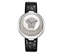 Versace Damen-Armbanduhr Perpetuelle Analog Quarz 87Q99SD497 S009