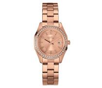 Caravelle New York Damen-Armbanduhr PERFECTLY PETITE Analog Quarz Edelstahl beschichtet 44M103