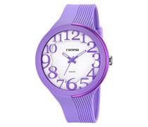 Damen-Armbanduhr Analog Plastik Violett K5706/3