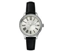 Damen-Armbanduhr Analog Quarz Leder A12652M