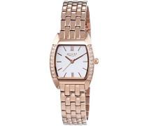 Damen-Armbanduhr Analog Quarz Edelstahl beschichtet 12210916