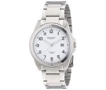 Regent Herren-Armbanduhr XL Analog Quarz Edelstahl 11150540