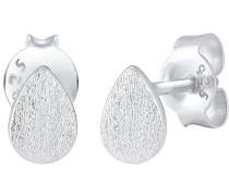 Ohrringe Tropfen Minimal Matt 925 Silber 0311312116