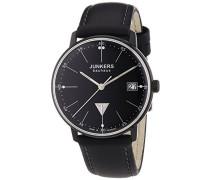 Junkers Damen-Armbanduhr XS Bauhaus Analog Quarz Leder 60714