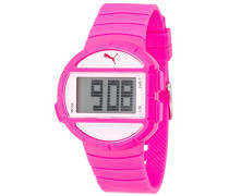 Puma Time Damen-Armbanduhr Half Time S Pink Digital Quarz Plastik PU910892007