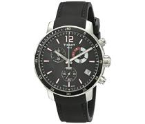 Tissot Herren-Armbanduhr Chronograph Quarz Leder T095.449.17.057.00