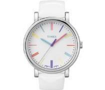 Damen-Armbanduhr  Style Analog Leder weiß T2N791D7