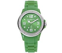Damen-Armbanduhr Analog Quarz Silikon OR25100055