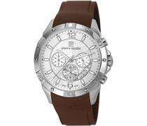 Pierre Cardin Herren-Armbanduhr Toulouse Chronograph Quarz Kautschuk PC106211S02