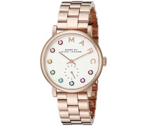 Marc Jacobs Damen-Armbanduhr Analog Quarz Edelstahl MBM3441