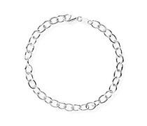 Heartbreaker Damen- Armband für charms 925 Silber Perle rot 19 cm HB BL 08