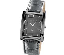 Herren-Armbanduhr Analog Quarz Leder 210D189