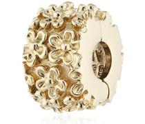 Damen -Bead 585- Gelbgold , Clip-Modul , 750507