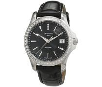 Damen-Armbanduhr XS Analog Quarz Leder C004.210.66.056.00