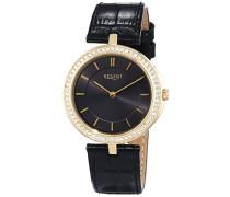 Damen-Armbanduhr XS Analog Quarz Leder 12090293