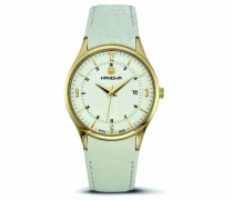 Herren-Armbanduhr XL Disciplin Analog Leder 16-4022.02.001