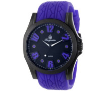 Burgmeister Herren-Armbanduhr XL Analog Quarz Silikon BM606-623