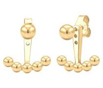 Damen-Ohrstecker Kugel Ear Jacket 925 Silber - 0305931517