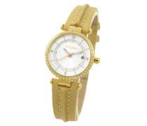 Damen-Armbanduhr Analog Quarz Leder SPE1622-0003