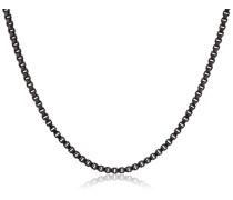 Damen-Halskette Classic anthrazit 0.1 cm - 601533011