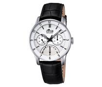 Herren-Armbanduhr Analog Quarz Leder 18216/1