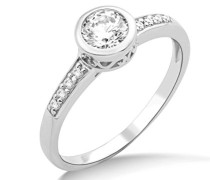 Damen-Ring 925 Sterling Silber Swarovski Elements Größe 57 MS007R7