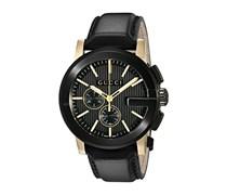 Gucci Unisex-Armbanduhr G CHRONO Chronograph Quarz Edelstahl YA101203