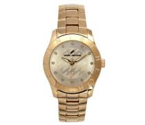 Damen-Armbanduhr Analog Quarz Edelstahl DHD 004-1EM