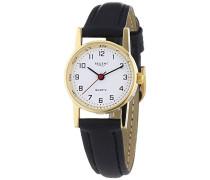 Regent Damen-Armbanduhr XS Analog Quarz Leder 12100417