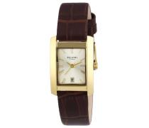 Regent Damen-Armbanduhr Analog Quarz Leder 12100525