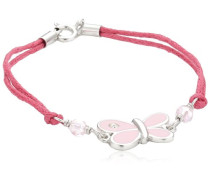 For Kids Kinderarmband 16cm 925 Sterlingsilber Schmetterling rosa 273260040