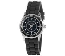 Damen-Armbanduhr XS Analog Quarz Silikon OR22171244