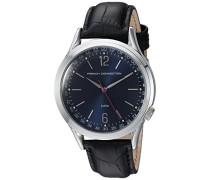 French Connection Herren-Armbanduhr Cromwell Analog Quarz Leder FC1195UB