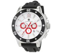 Herren-Armbanduhr Wipeout Analog Automatik Edelstahl CD-WIP-AT-STSTBKWH-RD