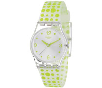 Swatch Damen-Armbanduhren Lifestyle Green Darling LK315