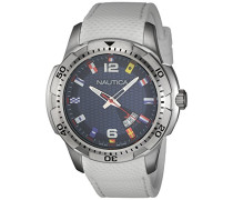 Herren-Armbanduhr Analog Quarz Silikon NAI13514G