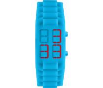 Jacques Lemans Unisex-Armbanduhr  Digital Quarz Silikon 374L
