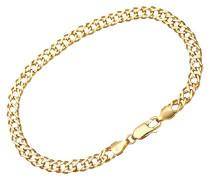 Damen-Armband Gelbgold 9 Karat 19 cm, 7,5 Zoll, 5 mm