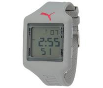 Damen-Armbanduhr Slide L Grey Digital Quarz Plastik PU910791008