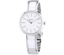 Regent Damen-Armbanduhr XS Analog Quarz Edelstahl 12220946