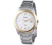 Herren-Armbanduhr XL Analog Quarz Edelstahl 11160234