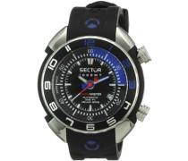 Herren-Armbanduhr XL Analog Automatik Kautschuk R3251178025