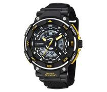 Herren-Armbanduhr analog-digital Plastik Schwarz K5673/2