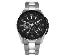 Police Portland Herren-Armbanduhr Analog Quarz Edelstahl beschichtet - PL.93645AEU/02M