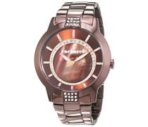 Damen-Armbanduhr Analog Quarz Edelstahl CLD 005-5UM