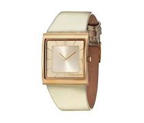Police Damen-Armbanduhr XS Analog Quarz Leder PL.13678BSG/06A