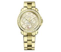 Damen-Armbanduhr Pedigree Analog Quarz Gelbgold 1901049