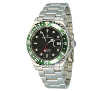 Herren-Armbanduhr XL Diver Analog Automatik Edelstahl 17572.2134