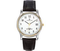Herren-Armbanduhr Analog Quarz Schwarz 611273